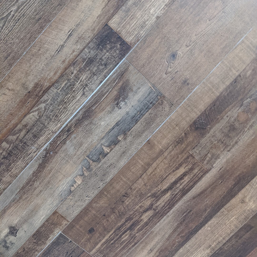 Lower Deck (SH-9012) -- Waterproof Plank  -- 6.5mm with 2mm Pad Attached